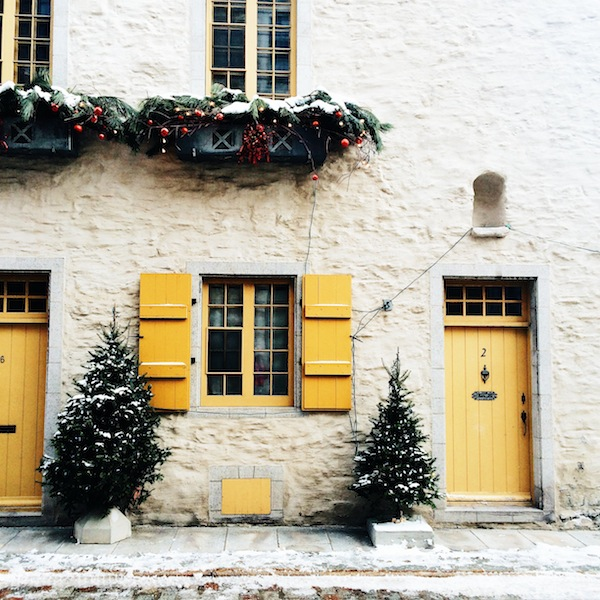 quebec city christmas holiday winter wonderland blog