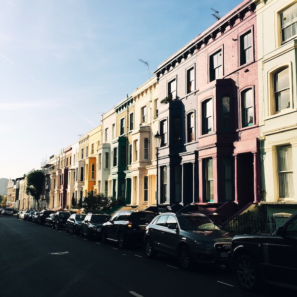 London Notting Hill England Travel Photo Guide Blog