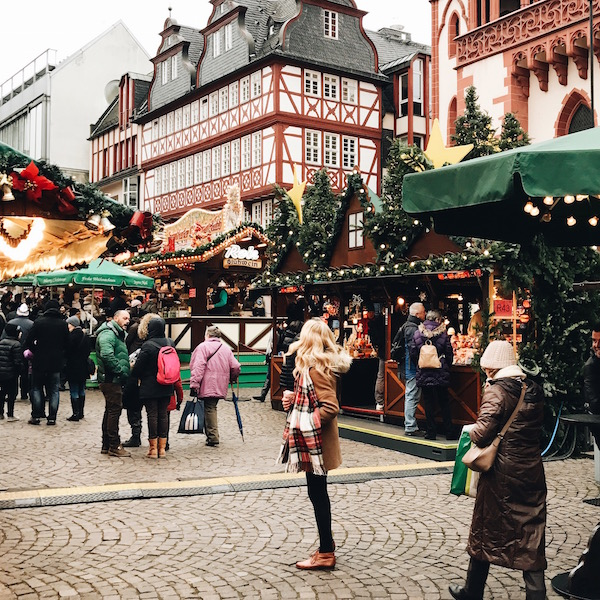 Frankfurt Germany Christmas Market Lauren Wells laurenswells